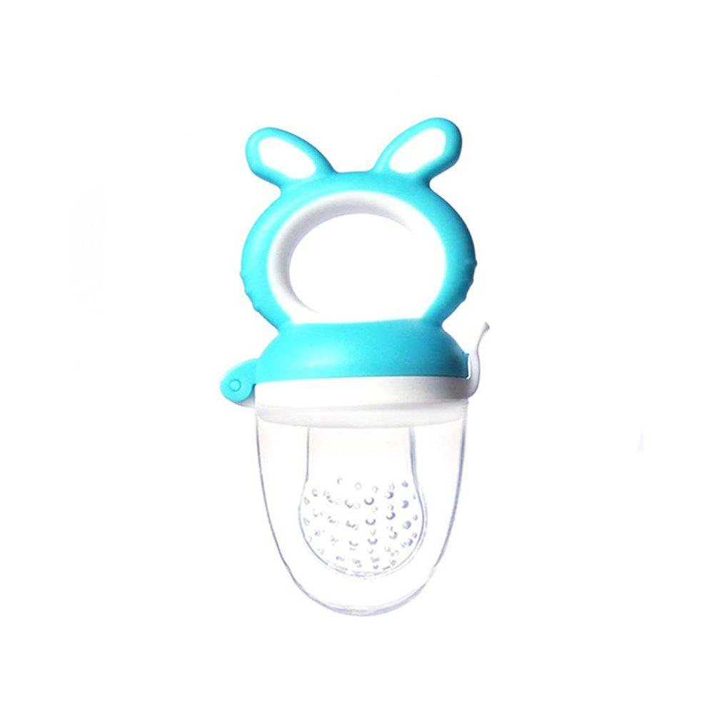 Store Cartoon Rabbit Baby Fruit And Vegetable Food Supplement Baby Molar Bite Pacifier
