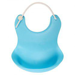 New Baby Rice Bowl Three-Dimensional Waterproof Bib Baby Eating Pocket -