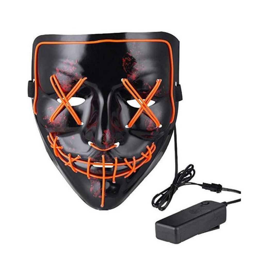 2018 mask led light up purge mask for festival cosplay costume
