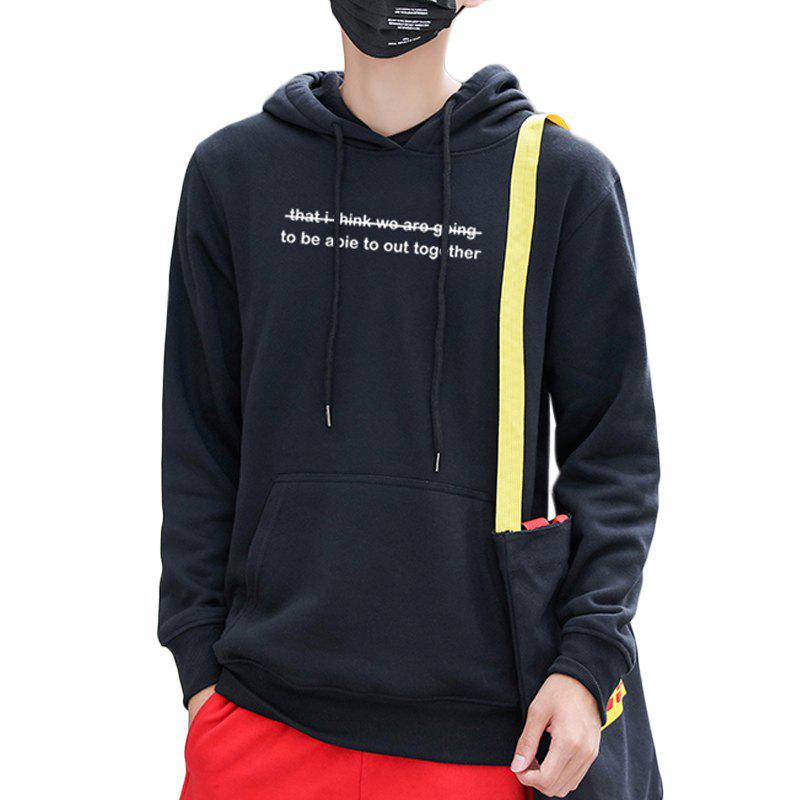 486762226dd7 Affordable Men s Casual Letter Print Fashion Hoodie