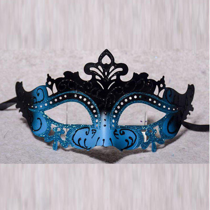 Halloween Half Face Gradient Gold Mask Sexy Princess Temperament Venetian Masque