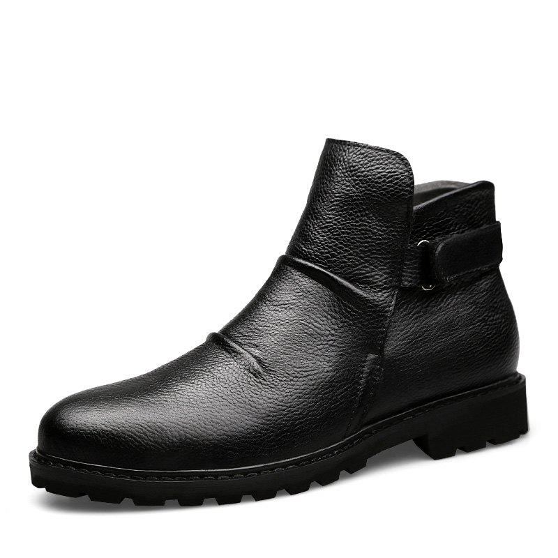 Shop Men'S Leather Business Casual Booties