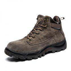 Men'S Warm Wear-Resistant Anti-Skid Outdoor Tooling  Snow Boots -