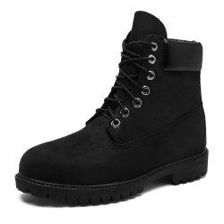 Men'S Leather Outdoor Tooling Wear-Resistant Non-Slip  Boots -