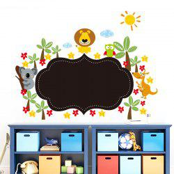 Sticker Mural PVC Animaux -