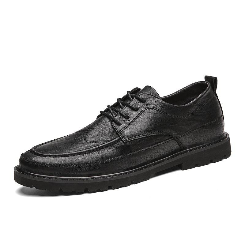 Discount Men'S Leather Shoes Casual Shoes