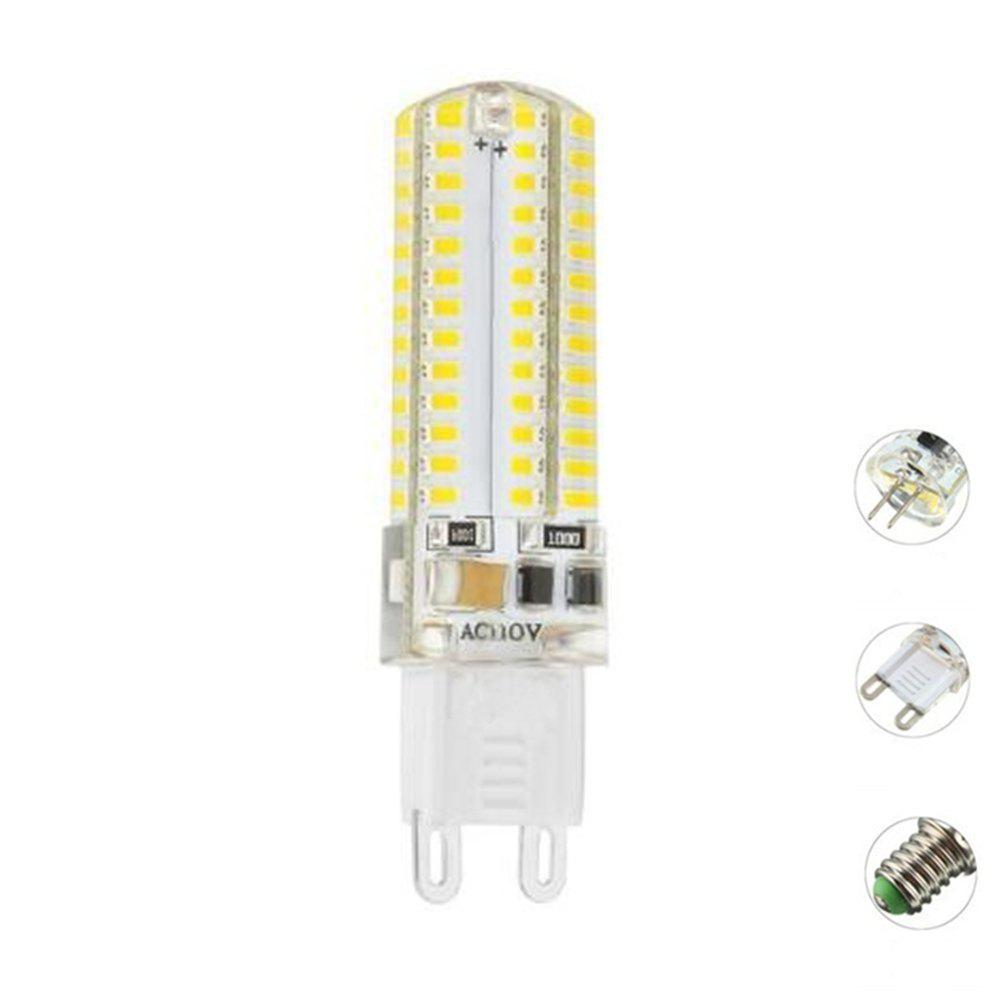 Outfit OMTO G4 G9 E14 SMD 3014 Silicone LED Lamp 104Led 110V Bi-pin Light