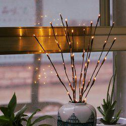 YEDUO LED Willow Branch Lamp Floral Lights 20 Bulbs Home Christmas Party Decor -