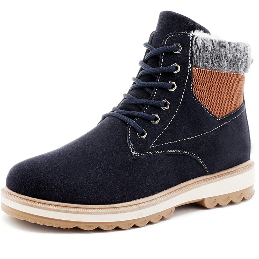 Sale Men Winter Cotton-Padded Warming High-Cut Shoes