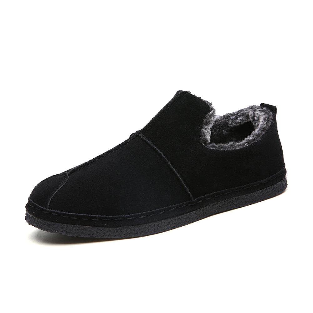 Best Men Winter Cotton-Padded Warming Brief Casual Slip-on Shoes