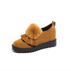 Chaussures sauvages chaudes chaussures plates -