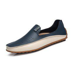 Men'S Summer Super Fiber Breathable Driving Shoes -