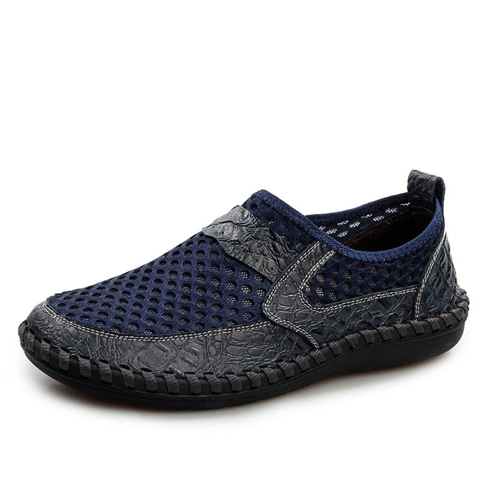 Cheap Men'S Summer Cool Breathable Mesh Cloth Casual Shoes
