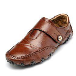 Men'S British Style Leather Fashion Driving Shoes -