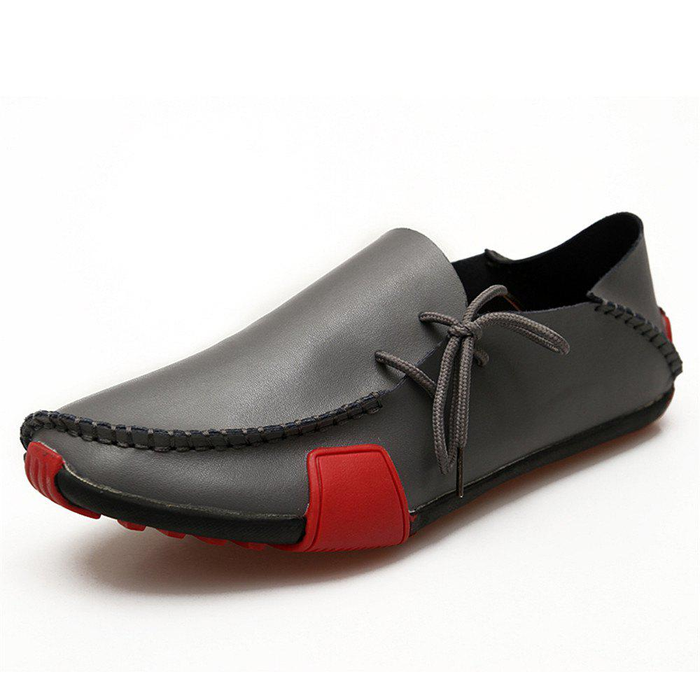 Chic Men'S Hand-Made Suture Fashionable Lightweight Driving Shoes