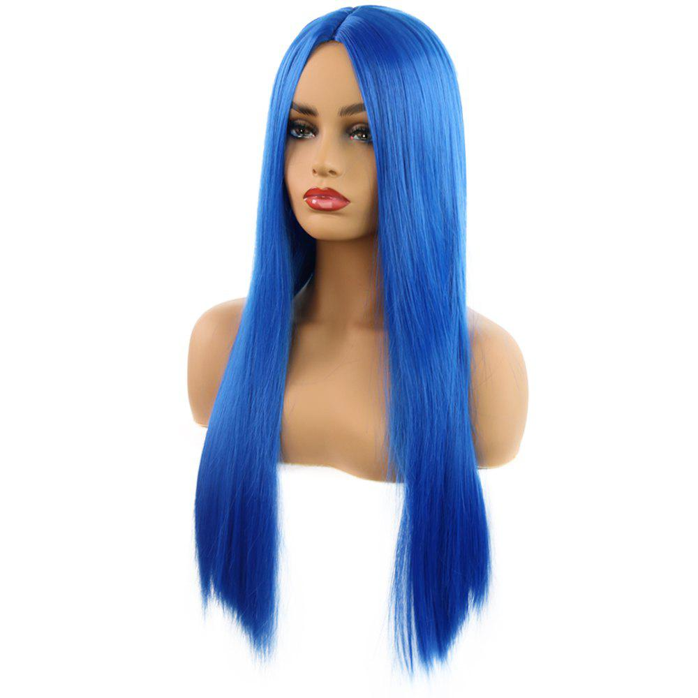 Outfits Role Play WIG Women Fashion Repair Face Straight Long Hair