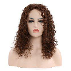 Fashion Black Lady Curly Hair -