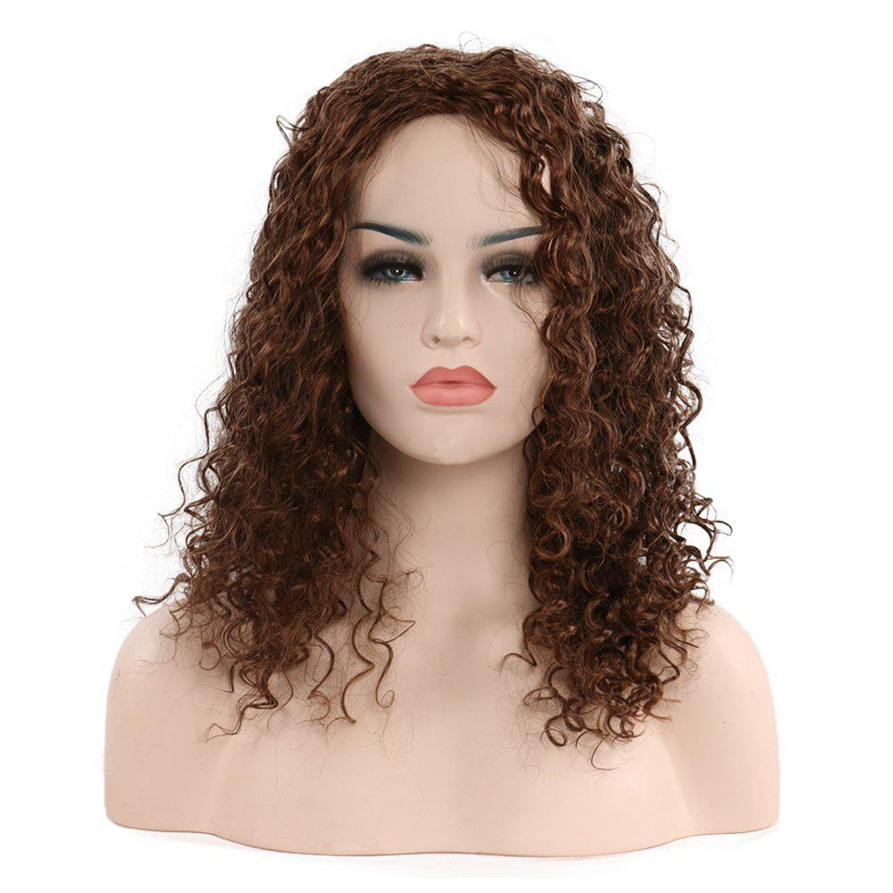 Cheap Fashion Black Lady Curly Hair