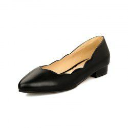 Simple Women Shoes with Pointed Toes -