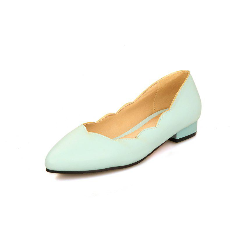 New Simple Women Shoes with Pointed Toes