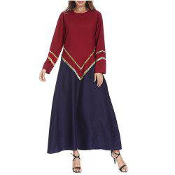 Autumn and Winter New Long-Sleeved Dress -