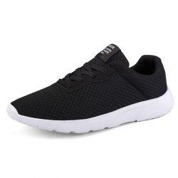 Men'S Lightweight Non-Slip Breathable Mesh Outdoor Sports Running Shoes -
