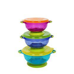 Baby Strong Suction Cup with Lid Three Pieces -