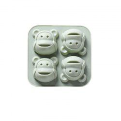 DIY Cake Mold Monkey Head Head Cake Baking Mold DIY Biscuit Mold -