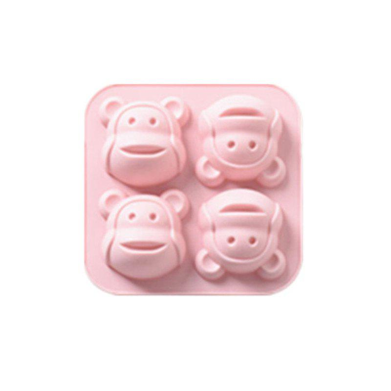 DIY Cake Mold Monkey Head Head Cake Baking Mold DIY Biscuit Mold