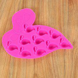 Flamingo Ice Cube Mold Tray Chocolate Baking Pudding Jelly Maker Силикон -