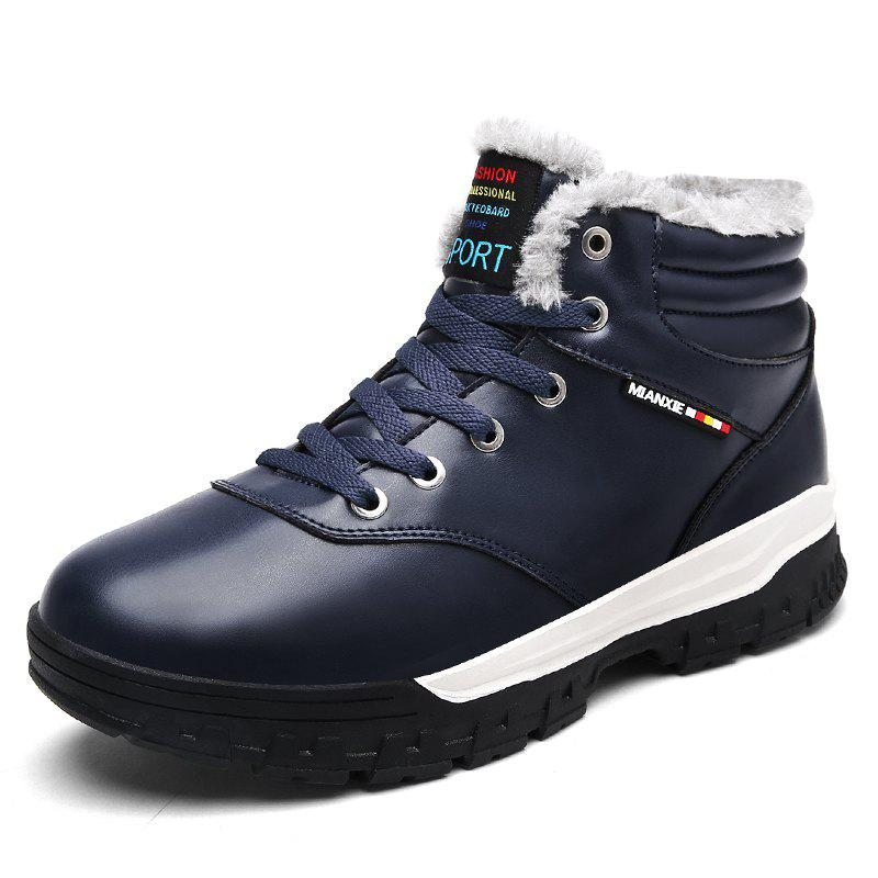 Store Winter Boots Men Shoes Warm Fur Snow Boots