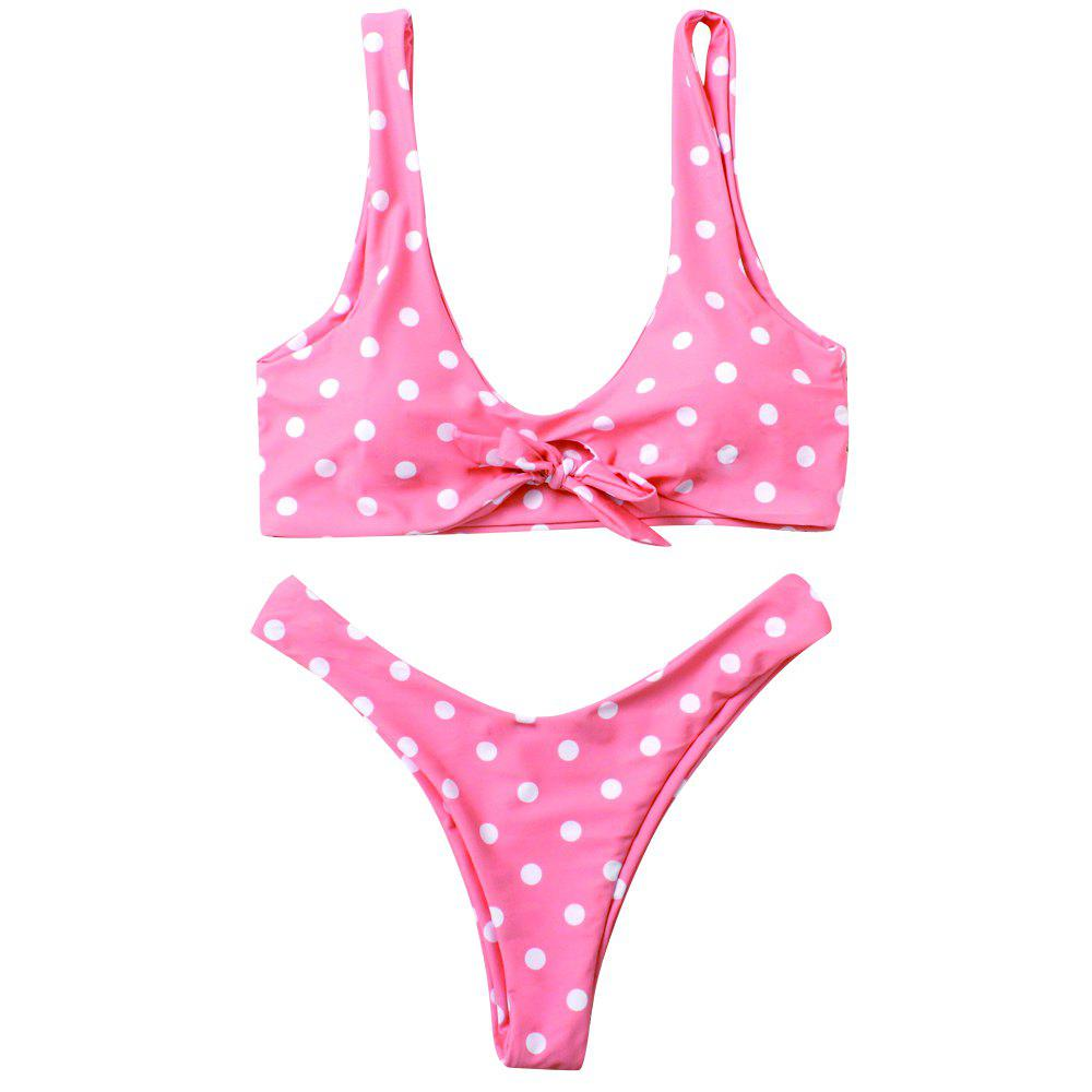 Online Pink Lovely To Gather Bikini Sexy Lady Swimsuit