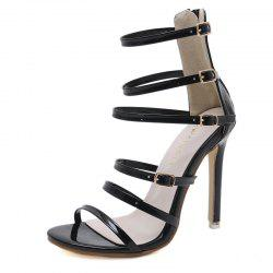 Women's Stiletto Open Toe High Heels London Party Sandals -