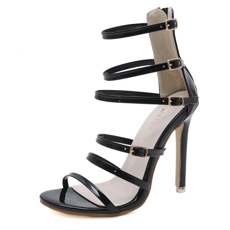 Sale Women's Stiletto Open Toe High Heels London Party Sandals