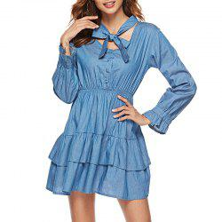 Sweet Lady Noeud papillon double robe -