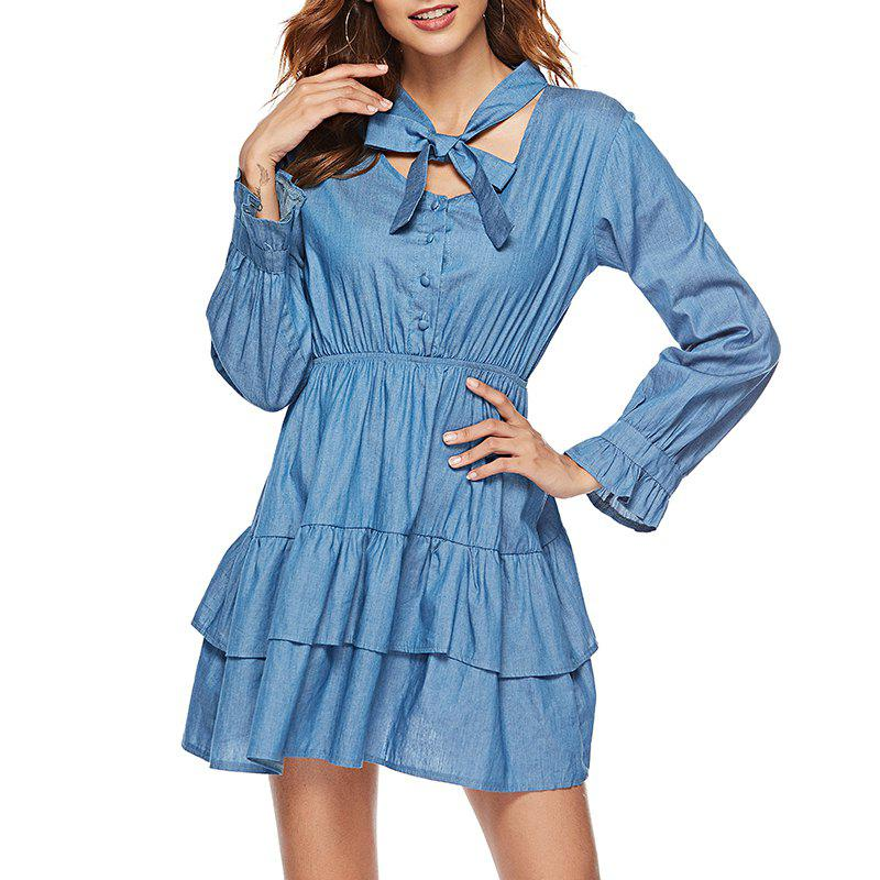 Sweet Lady Noeud papillon double robe