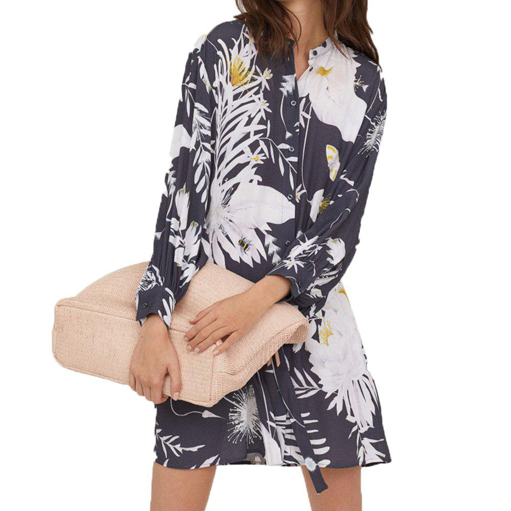 Store Waist Collection Lantern Sleeves Shirt and Dress