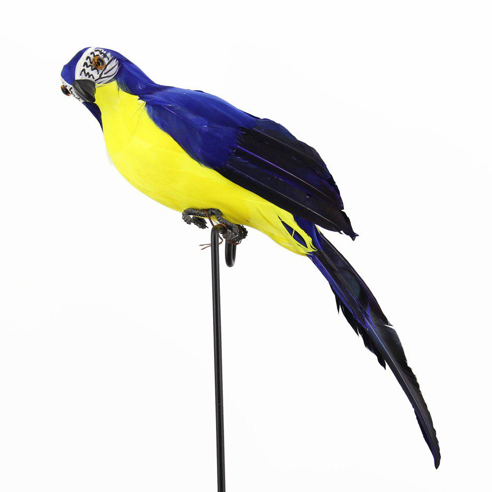 Outfit Parrot Macaw window Display gardening Decoration bird Foam Feather