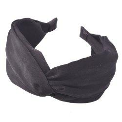 Double Cloth Art Knot Hair Band -