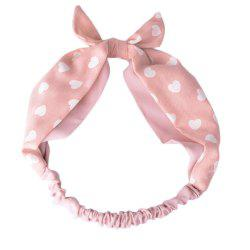 Rabbit Ears Flowers Dots Headbands -