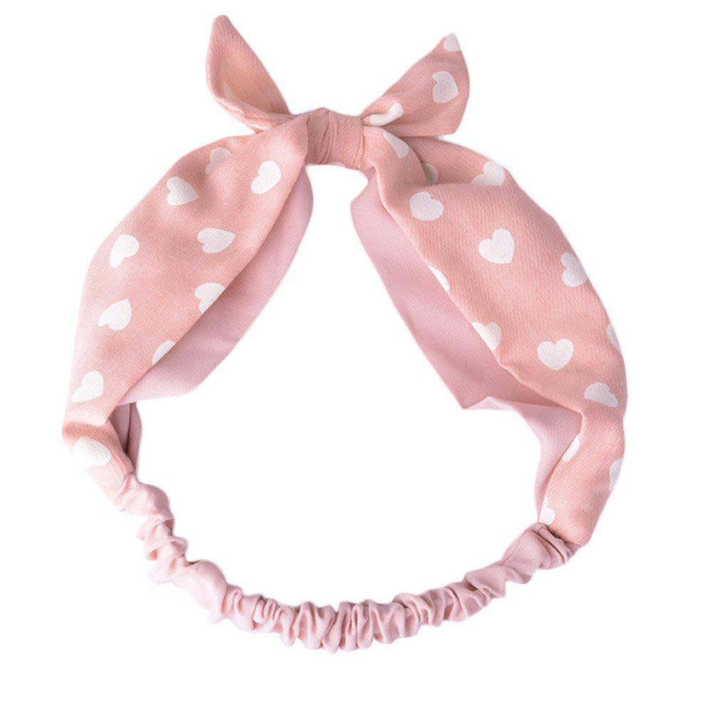 Fashion Rabbit Ears Flowers Dots Headbands