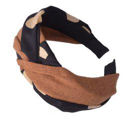 Wide-Brimmed Cloth Art Knot Head Band -