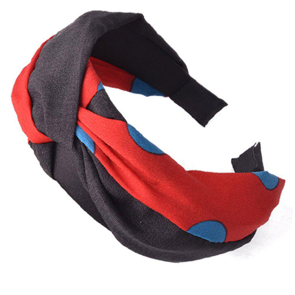 Online Wide-Brimmed Cloth Art Knot Head Band