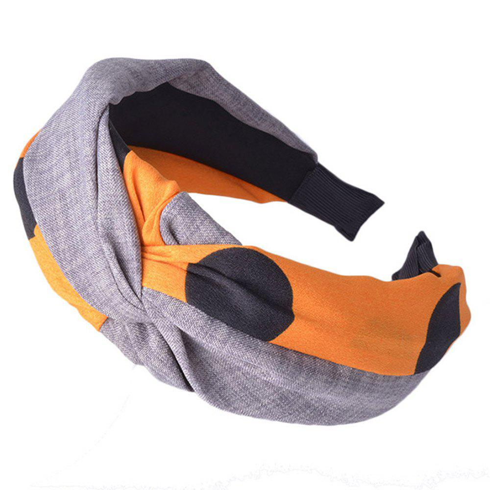 Affordable Wide-Brimmed Cloth Art Knot Head Band