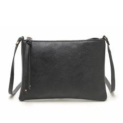 Casual Crossbody Bags for Women PU Leather Messenger Bags Female Flap Handbag -