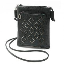 Petit sac à bandoulière Vintage Rivet Women Messenger Bags for Phone -