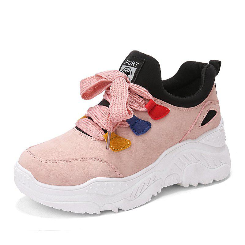 Outfits Autumn and winter fashion tide shoes thick bottom women sneakers