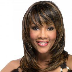Bang Smooth Straight Bob Haircut Wig -