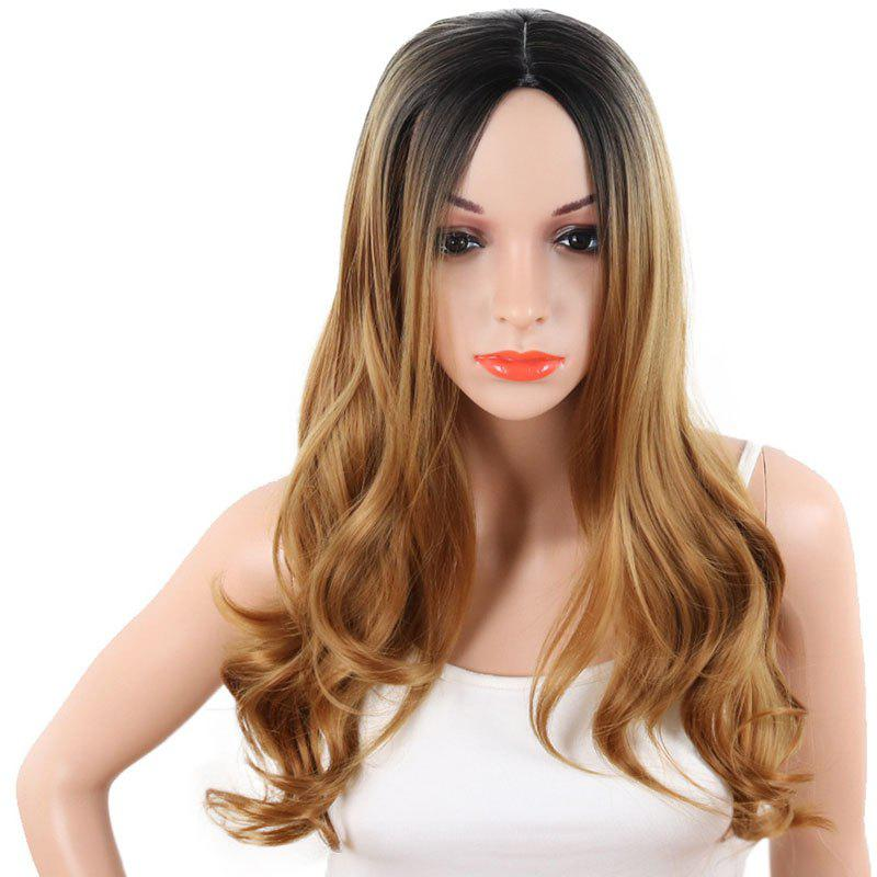 Outfits Cosplay Big Wave Gradient Ramp Long Wig