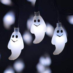 Battery Operated LED Fairy String Lights 20 Ghost Lights Christmas -